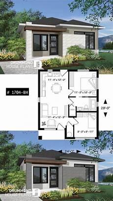 Kleines Und Erschwingliches Haus Im Modernen Stil Ideal