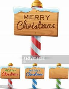 merry christmas sign vector art getty images