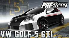 need for speed prostreet speedpaint vw golf v gti