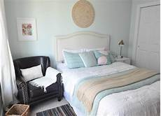 our cozy serene guest bedroom