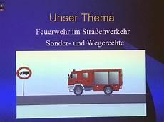 27 11 2019 Unterricht Zu Einsatzfahrten Mit Sonder Und