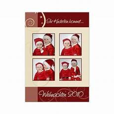 weihnachtskarten mit foto quot ihr kinderlein kommet quot drucken