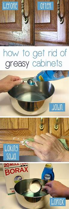 Kitchen Cabinet Doors Cleaning by 10 Diy Kitchen Cleaning Hacks Nifty Diys
