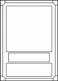 card template printable trading card template front by blackcarrot1129 on