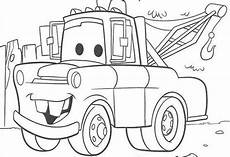 mater from cars coloring pages and print for free