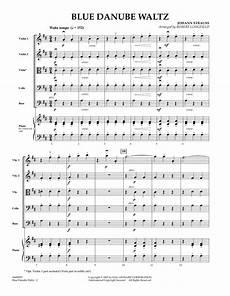 blue danube waltz full score sheet music robert longfield orchestra