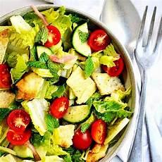 easy fattoush salad recipe pinch and swirl