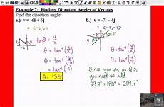 how to find component form of a vector pc 6 3 notes exle 8 find the component form of a vector youtube