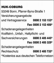 Huk Coburg Schaden Melden In Bonn In Das 214 Rtliche