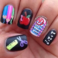 back to school nail art ideas fashion trend seeker