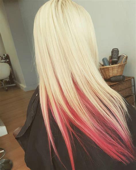 Blonde Underneath Hair