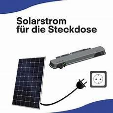 solarmodul f 252 r die steckdose 290 watt mit metallst 228 nder