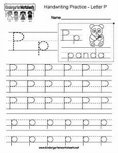 letter p handwriting worksheets free kindergarten writing worksheets learning to write the alphabet