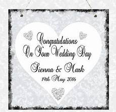message for wedding gift personalised wedding message plaque congratulations