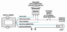 dimmer control switch gray blue sea systems