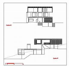 tragende wand erkennen dachgeschoss viviendas modernas casa el pangue