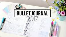 Bullet Journal Planner Setup 2017 Plan With Me January