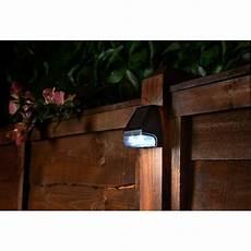 wall fence solar light garden lights b m