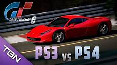 gran turismo 6 ps3 vs ps4 what will be the difference