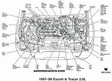 ford 2 0 engine diagram diagram of 1998 ford engine