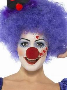 clown frau schminken schminkideen frauen lustige per 252 cke lila clown kost 252 m