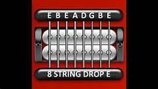 Guitar Tuner 8 String Drop E E B E A D G B E