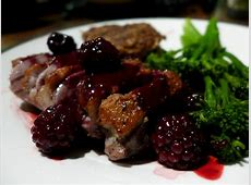 duck with blackberry sauce_image