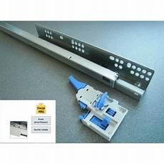 coulisse tiroir sortie totale coulisse de tiroir avec amortisseur int 233 gr 233 soft
