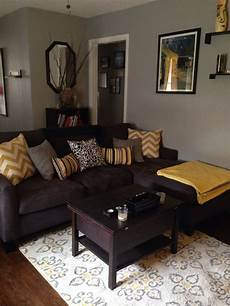 Home Decor Ideas With Brown Couches by Furniture Ideas For An And Refined Living Room