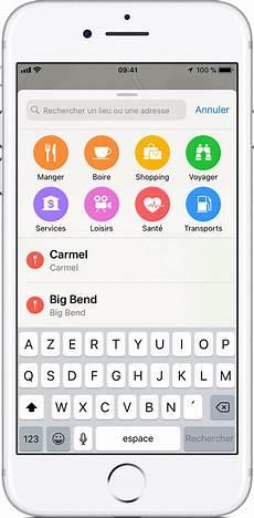 Utilisation De L Application Plans Sur Un Iphone Ou