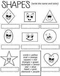 esl worksheets shapes 1099 enjoy teaching shapes worksheet matematicas fracciones fichas y didactico