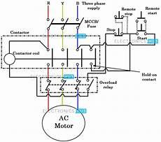 three phase dol starter wiring diagram direct online starter dol starter