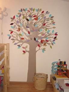 peinture et collage d 233 co arbre elikrea