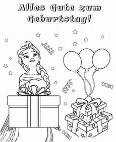 Ausmalbilder Geburtstag Gratis Ausmalbilder Alles Gute Zum Geburtstag Drucken Sie Kostenlos