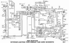 1966 mustang flasher diagram wiring schematic 64 1 2 mustang turn signal issue mustangforums