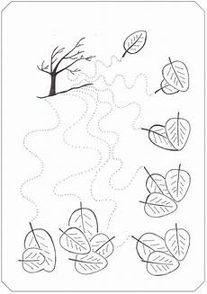 fall tree trace line worksheet wavy lines tracing worksheets pinterest fall trees
