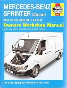 best auto repair manual 2006 mercedes benz g55 amg transmission control mercedes benz sprinter diesel 1995 2006 workshop manual