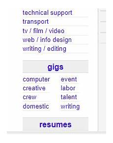 labor gigs near me craigslist 40 best under the table jobs near you that pay cash 2020