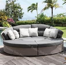 Lit De Jour Confortable De Rotin Lit De Sofa Ext 233 Rieur