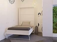 jugendzimmer mit klappbett schrankbett 120cm vertikal weiss smartbett