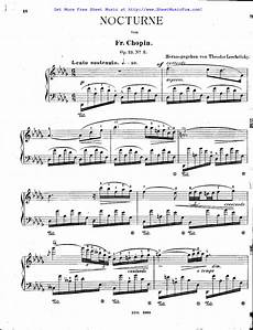free sheet music for nocturnes op 27 chopin fr 233 d 233 ric by fr 233 d 233 ric chopin
