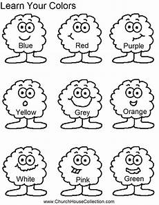 learn colors worksheets free 12775 church house collection learn your colors for preschool headstart school free