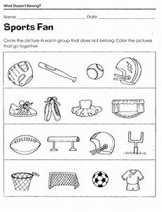 sports worksheets kindergarten 15816 sports worksheets for worksheets for sports activities for color