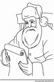 Weihnachtsmann Malvorlagen Kostenlos Ausdrucken 1001 Ausmalbilder Weihnachten Weihnachtsmann Ausmalbild