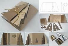 Wonderful Diy Carboard Tree Greeting Card