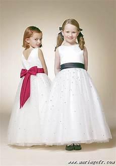 robe de demoiselle d honneur enfant