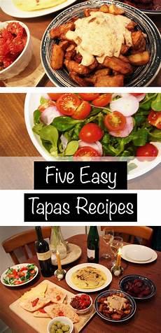 Five Easy Tapas Recipes