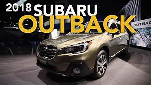 2018 Subaru Outback And Ascent Concept First