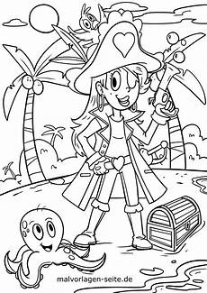 Malvorlagen Pdf Kinder Malvorlage Piratin Pirat Kostenlose Ausmalbilder