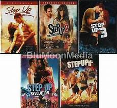 step up dvd 1 2 3 4 5 complete collection lot all in